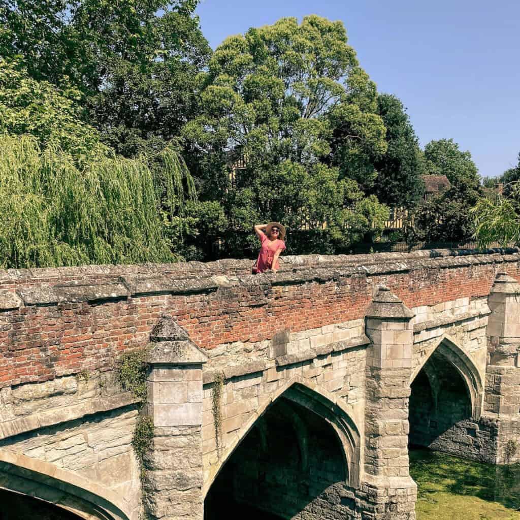 Rosanna Stevens at famous landmark Eltham Palace