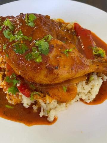 Belizean Stewed Chicken