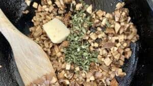mushroom sage filling
