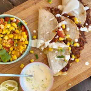 shredded chicken taco recipe