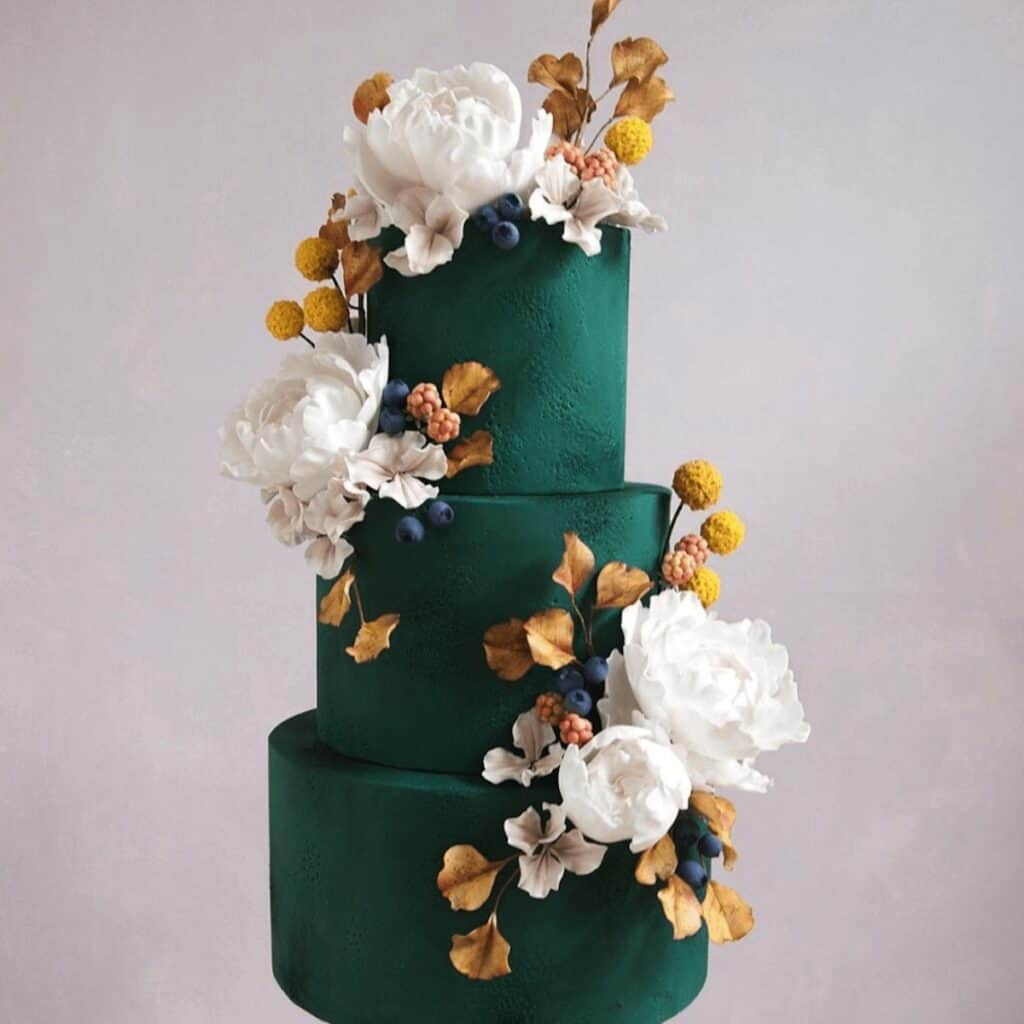 A bespoke wedding cake by Butter and Bodini