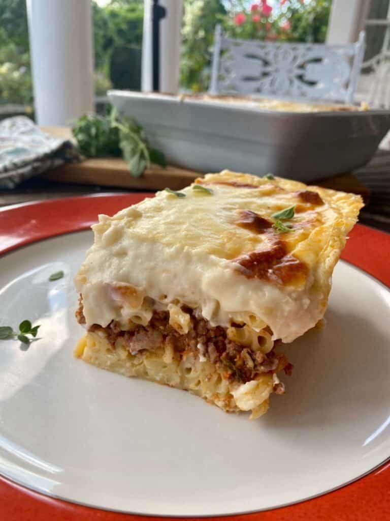 greek lasagne pastitsio