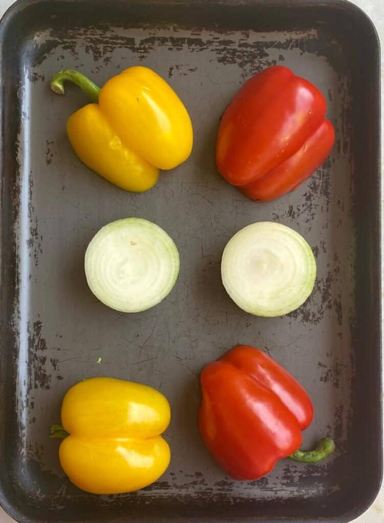 peppers and onion