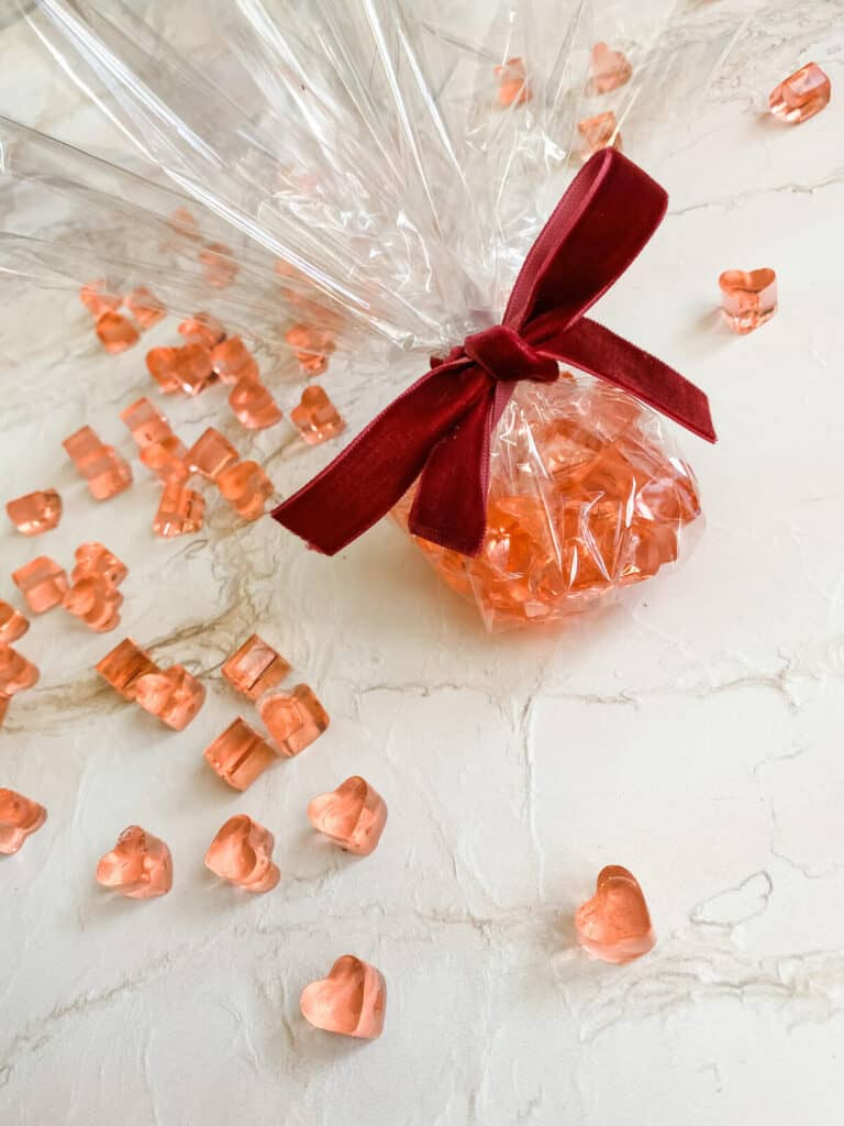 easy prosecco jelly sweets