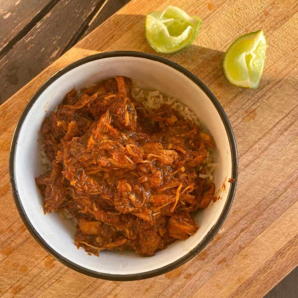 smoky pulled chicken