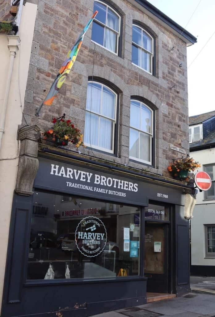 Harvey Brothers Butchers in Penzance